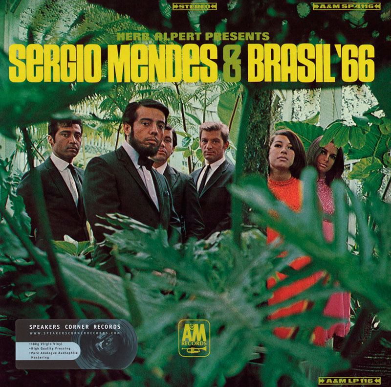 Sergio Mendes - Herp Albert Presents Sergio Mendes & Brasil 66 (1966, A&M)
