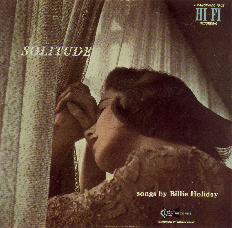 100 años del nacimiento de Billie Holiday Billie-Holiday-Solitude-1952-Verve