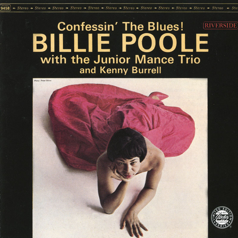 Billie Poole - Confessin The Blues (1962, Riverside)