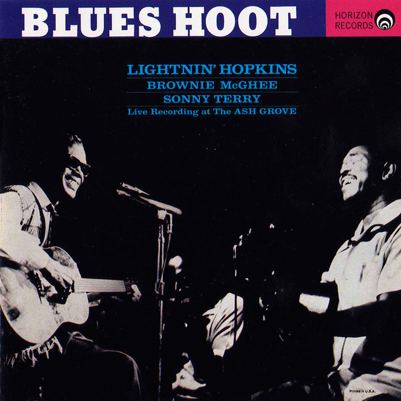 Lightnin Hopkins - Blues Hoot (1961, Horizon Records)