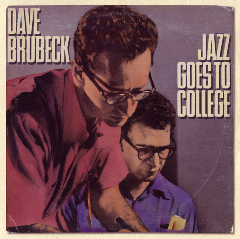The Dave Brubeck Quartet - Jazz Goes to College (1954, Columbia)