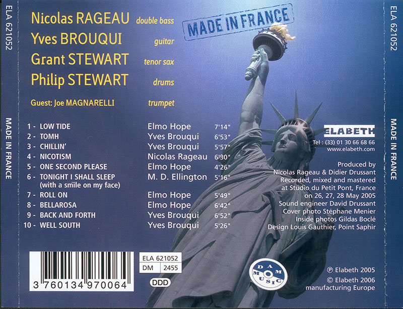 Yves Brouqui - Made In France (2005, Elabeth) 2
